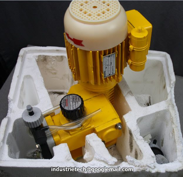 pompe de dosage 11 litre pompe doseuse piston dosapro milton roy ebay. Black Bedroom Furniture Sets. Home Design Ideas