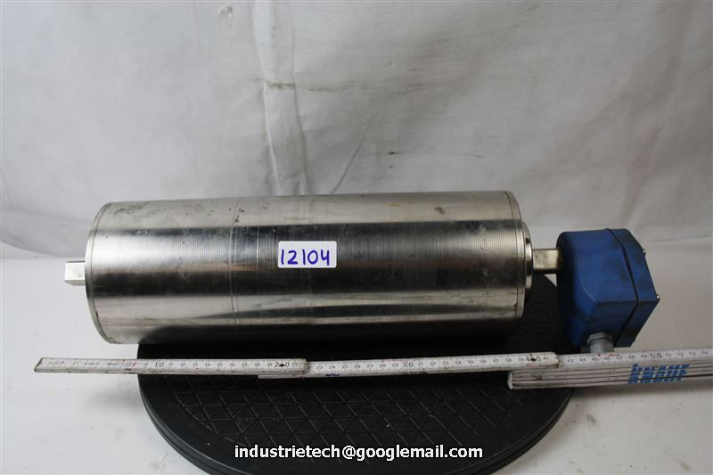 Van Der Graaf Tm127a25 0475 Z Drum Motor Tm127 Conveyor Belt Roll Motor Ebay