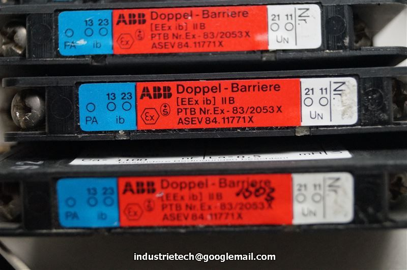 ghg11 49130 ABB doppio barriera PTB ex-83 2053x GHG 11